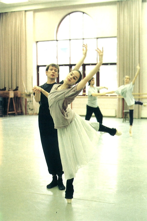 Far from the Madding Crowd in rehearsal in 1996
